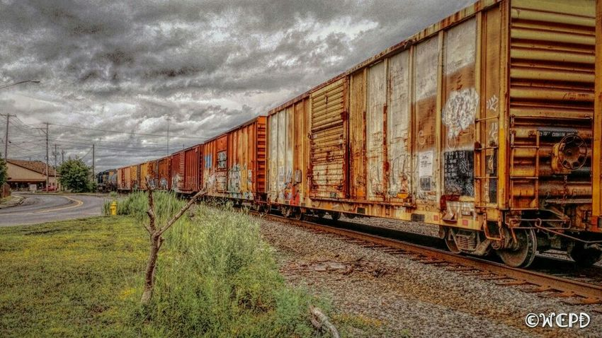 Train Tracks Trainphotography Railwaystation Sky And Clouds Trainporn Taking Photos Eye4photography  EyeEm Best Shots Summer2016
