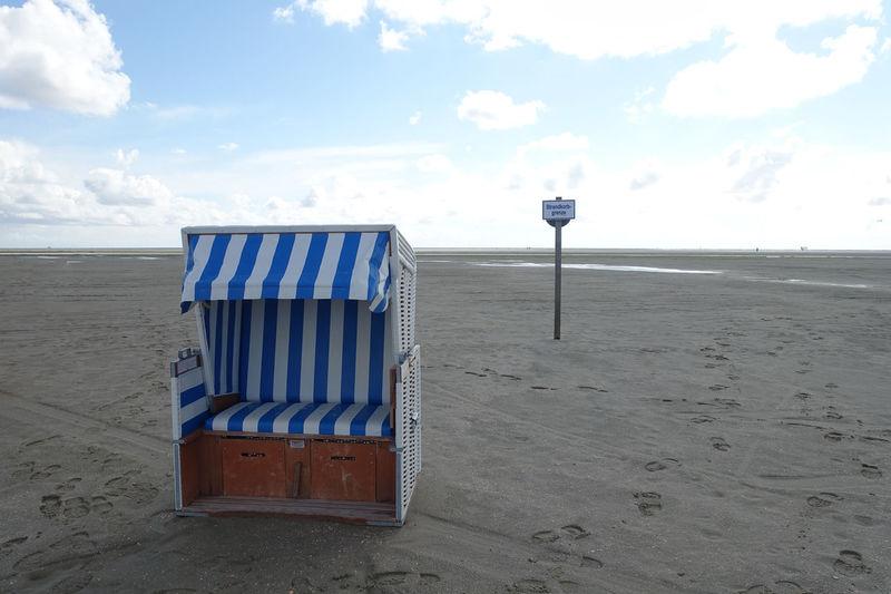 St. Peter Ording Beach Seaside Beach Chair Beach Chillout