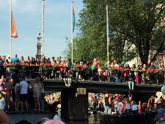 The Fan Club Canal Pride Amsterdam 2015 Love Has So Many Face Spread The Love Happy People Happy Pride Your Amsterdam