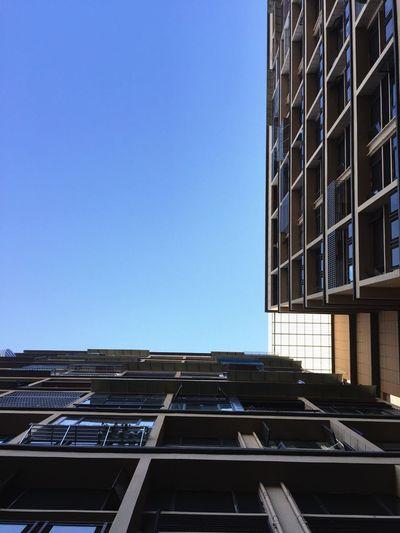 Blue Sky Blue Building