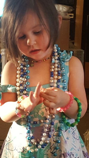 Necklace Jewelry Bracelet Playing Dress-up Second Acts