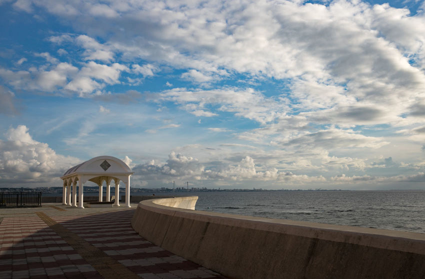 Holiday Okinawa Vacations Weekend Architecture Beach Beauty In Nature Building Exterior Built Structure Cloud - Sky Clouds And Sky Day Horizon Over Water Nature No People Ocean Outdoors Scenics Sea Sky Summer Sunset Tranquility Water