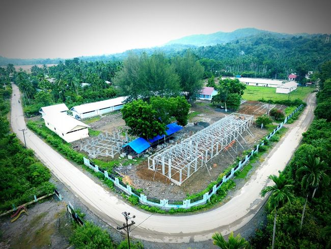 Contruction school School Contruction Engeneer Aceh Pidie Jaya Visual Inspiration Landscape Nature Mountain INDONESIA Travvelling Hollidays Architecture 3d Modellers For Hire Tree High Angle View Grass Green Color Countryside