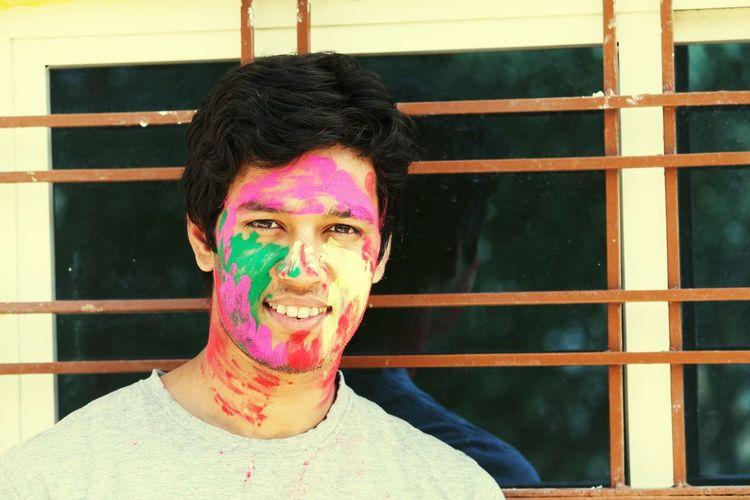 Holi Festival Holi Holi Festival Of Colours Holi In India Enjoying Life Family❤ Family Fun Cousinlove  Holi Day Colorsplash Color Explosion Colourful Color Photography Colorfull EyeEmNewHere