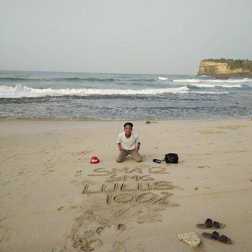 amiin Klayar Klayarbeach Klayarbeachpacitan Vscocam Backpacker Backpackerindonesia Iloveit Indonesiabagus Ayowisatakepacitan Sunrise