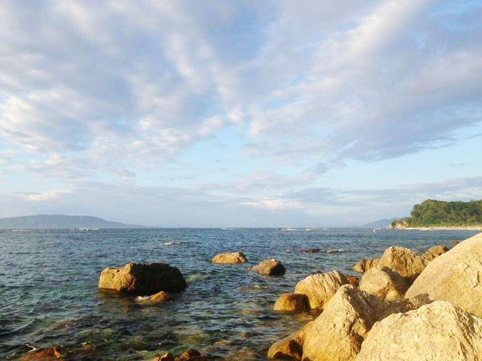 Puerto Galera <April 2016> First Eyeem Photo Sea Beach Vacations Chiechietravels