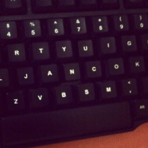 Kreativitas dari @her_cu_les Keyboard Mesoh Funny Computer instagood instamood