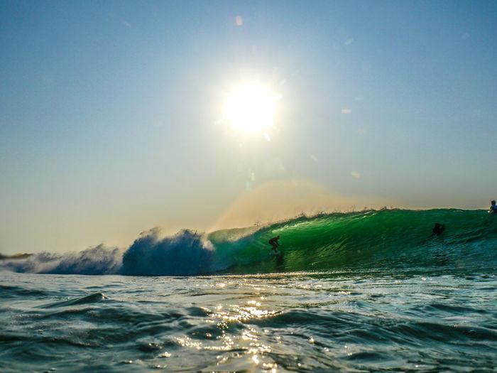 GH4 Majestic Nature Panasonic  Power In Nature Sea Sun Sunbeam Surf Surf Photography Tourism Underwater Photography Vacations Water Water Photography Wave