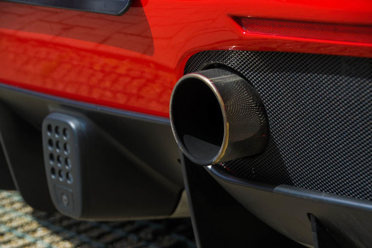 FERRARI 488 SPIDER Ferrari Ferrari Museum Ferrari Rear Museo Ferrari Car Day Exhaust Pipe No People Outdoors Red Uitlaat Ferrari