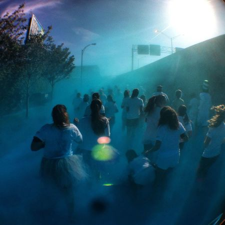Blue Wave Blue Haze Runners City Color Run Street Road On Ramp Showcase April Stories From The City Inner Power