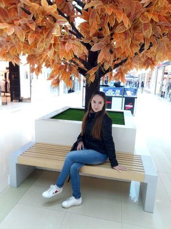 Full Length Sitting Tree Child Childhood