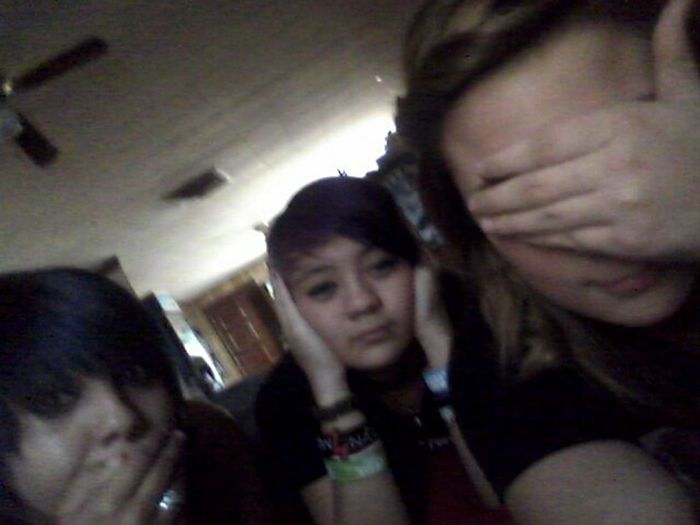 Hear,speak,and see no evil<3