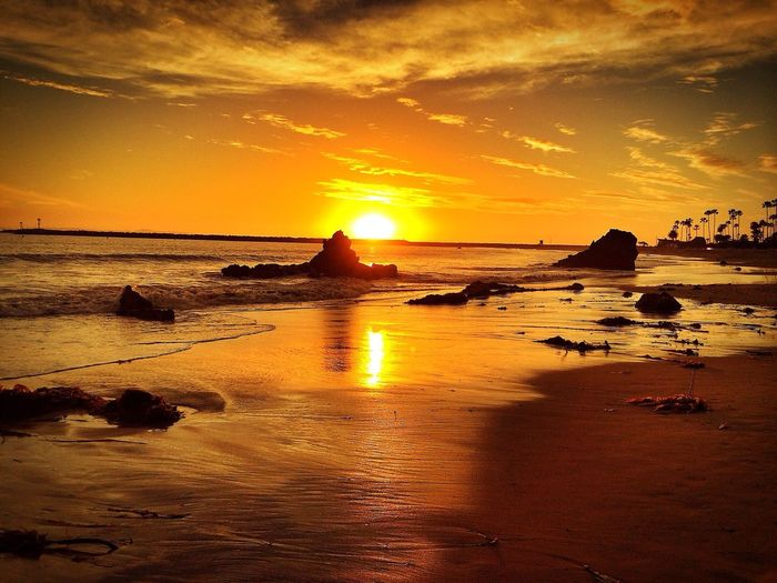 There is no better place to be than to bask in your warmth. Ocean Sunset Beach Sunsetdreams