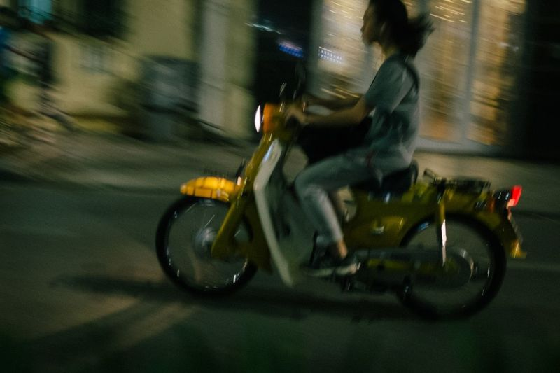 Night Ride Travel Photography Viet Nam Vietnam Vietnamese Biker Blurred Motion Lifestyles Mode Of Transport Motion Motorcycle Night Nightlife One Person People Real People Riding Side View Speed Transportation Vietnam Trip