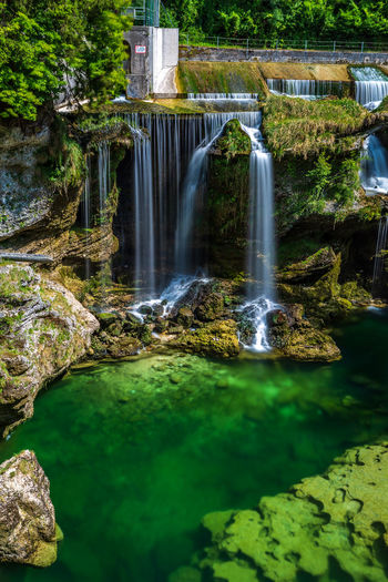 Traunfall Beauty In Nature Blurred Motion Falling Water Flowing Flowing Water Land Long Exposure Moss Motion Nature Non-urban Scene Oberösterreich Outdoors Plant Power In Nature Purity Rock Rock - Object Scenics - Nature Solid Stream - Flowing Water Tree Upperaustria Waterfall