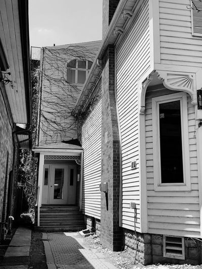 Street / Outdoor Photography series: Entries Whitby Ontario Downtown District EyeEm Selects Architecture Built Structure Building Exterior Building Window Residential District No People Entrance Day City Outdoors Door Staircase Brick Sunlight Low Angle View Old