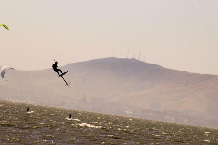 Air Jordan Sonny Airshow Eyem Gallery Eyemphotography EyeEm Gallery San Francisco Bay Kitesurfing Kite Surfing
