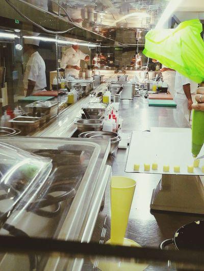 3 Star Michelin Star Kitchen