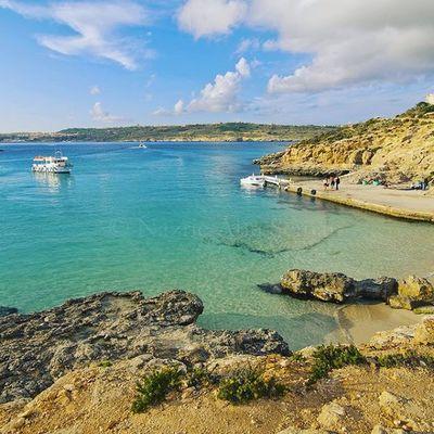 Blue lagoon   Coming island, Malta Malta Bluelagoon Cominoisland Comino
