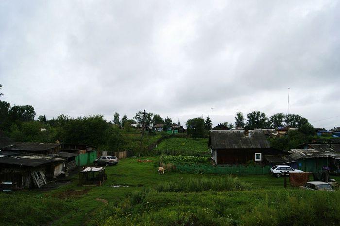 деревня отдыхаю Summer ☀ пасмурная красота зелень  дома❤