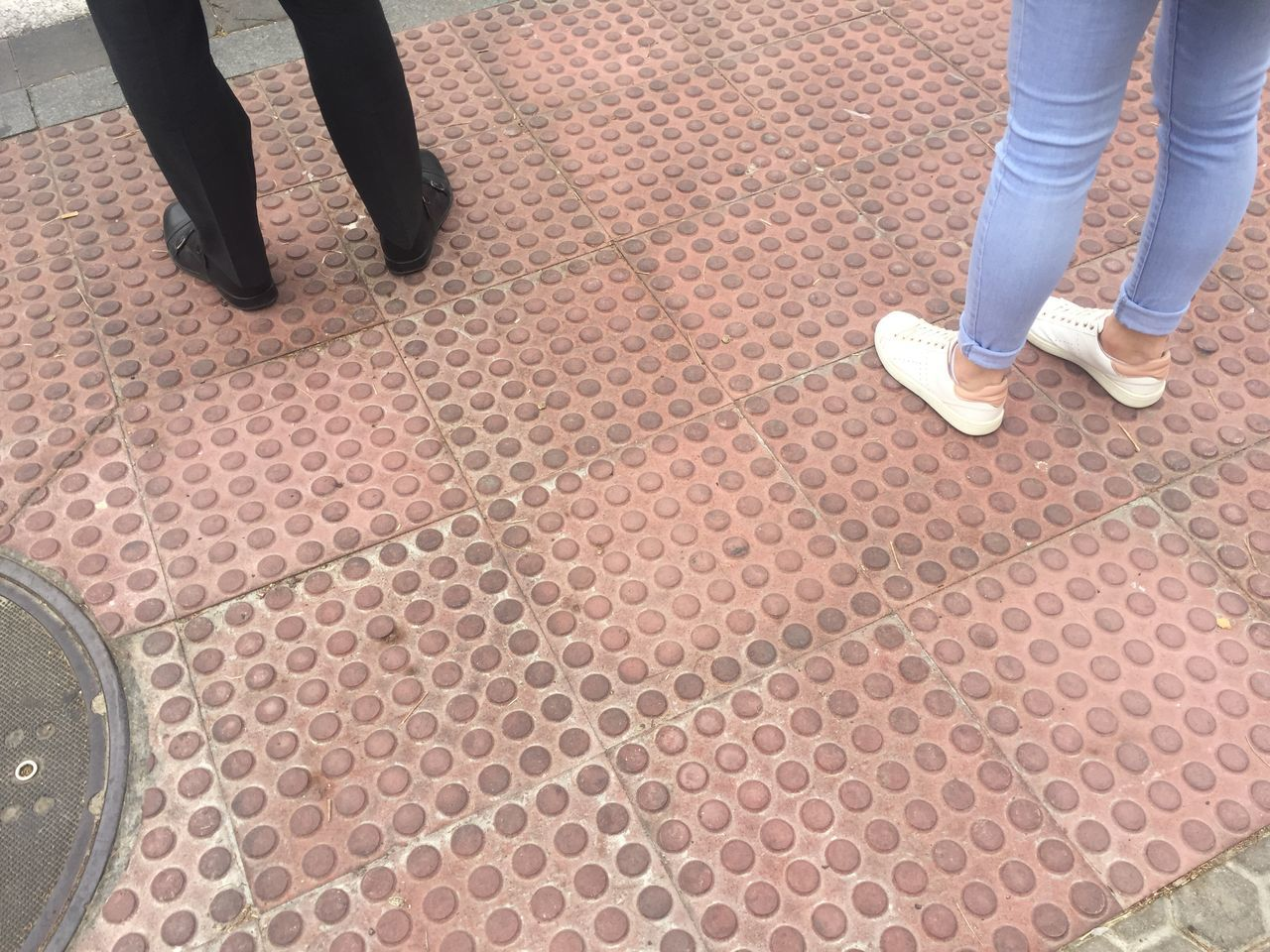 low section, human leg, standing, shoe, real people, two people, men, human body part, day, human, outdoors, people