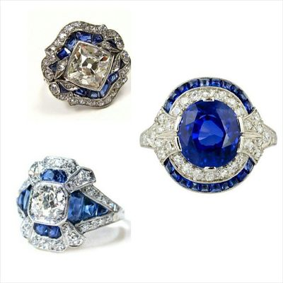 Artdeco Love😍🍺 Sapphire Diamond art deco inspired Rings Instafashion Jewelry Jewelrylover Antiquejewelry Jewelryaddict Design Luxury Jewels Joias Gioelli Jewelleryporn Blogger Woman Instagramers Amazing Pretty Highjewellery Hautejoaillerie Inspiration Likeit