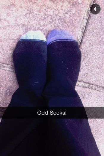 Odd Socks (blue/purple)