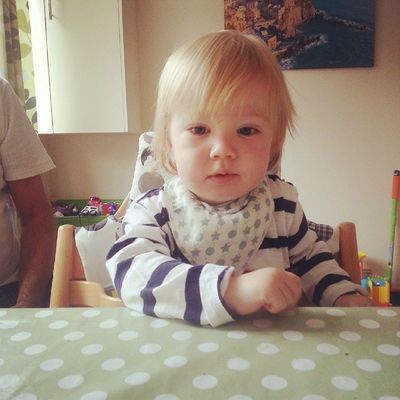 Why so serious? Cute Toddler