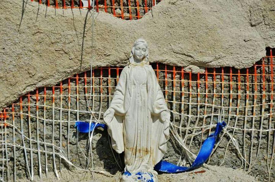 Madonnina Details Religious Art