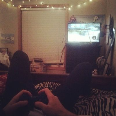 Video games with the bf :) DeadIsland Lovehim