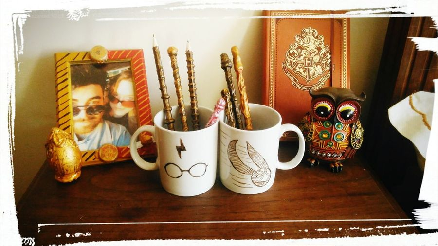 DIY At Home Pottery Passion Hogwarts School Of Witchcraft And Wizardry GoldenSnitch Magical Harry Potter Owl Photography Owl Magic Corner DIY Work Photo Love Gryffinpuff