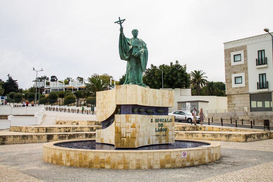 Algarve Denkmal Escultura Estatua Lagos Monument Monumento Outdoors Portugal Sao Goncalo Sao Goncalo De Lagos Skulptur Skulpture Statue