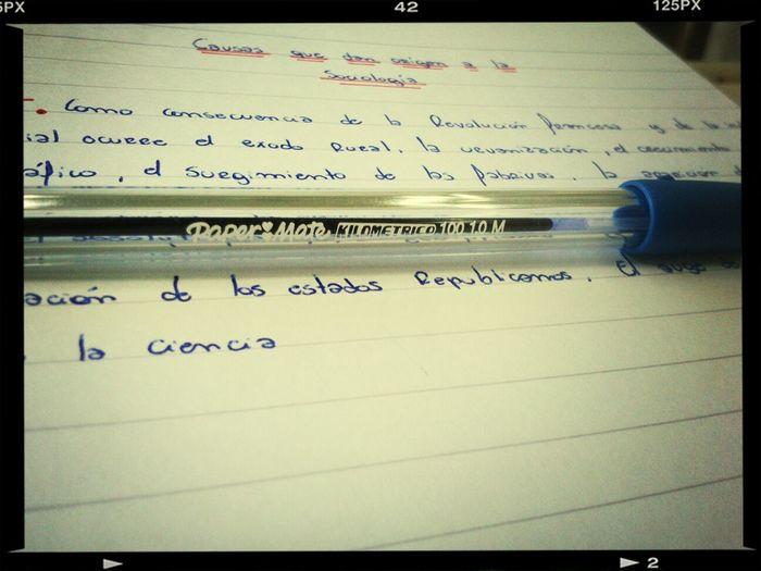 Escuela. Estudio.