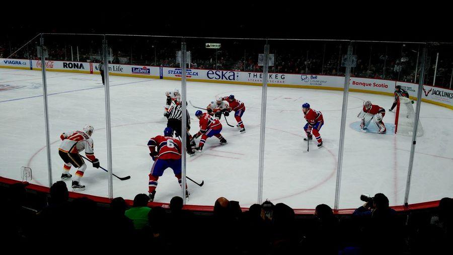 Sport Stadium Ice Rink Hockey Ice Hockey Athlete Fan - Enthusiast Sports Team Montreal Canadiens Habs NHL Professional Sport