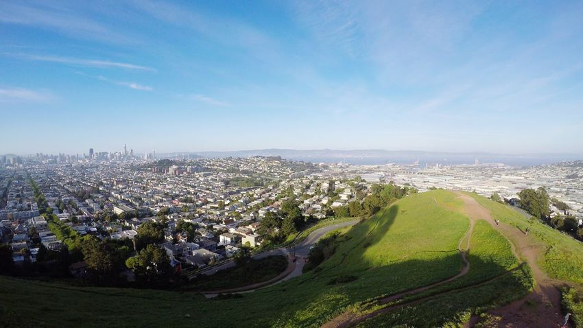 View of San Francisco from Bernal Heights