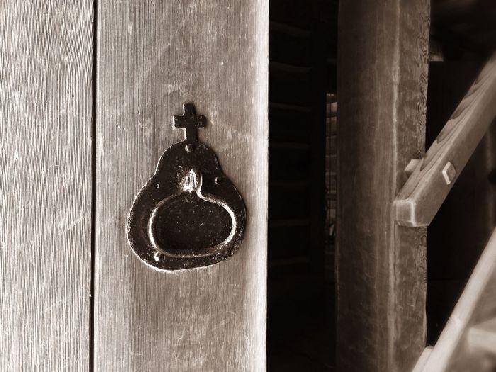 Fort Ross Iron Wooden Door The Architect - 2015 EyeEm Awards Shades Of Grey