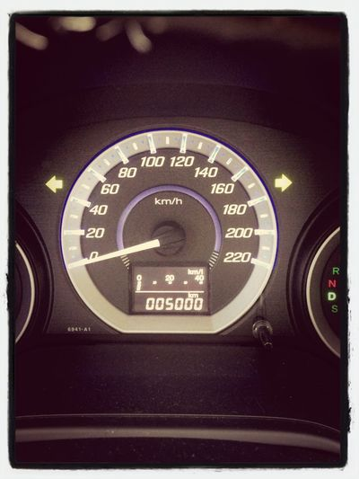 Happy First 5000km Candice!!!