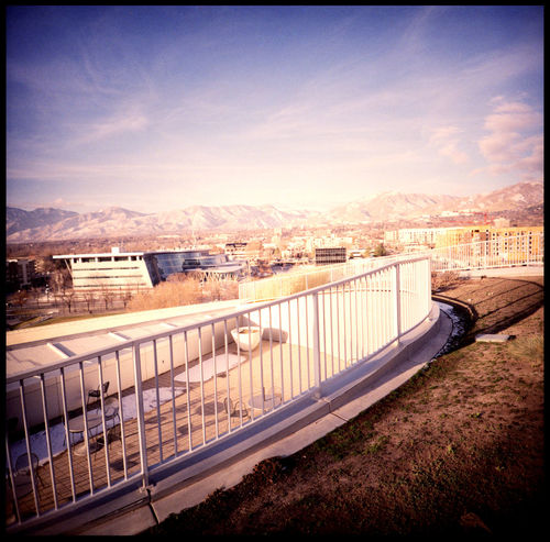 The awesome library of Salt Lake City Analogue Photography Architecture Bold Architecture Future Architecture Landscape Salt Lake City Lomography Salt Lake City Salt Lake City, Utah Salt Lake Rooftop Travel United States Utah Analogue Photofgraph Bent Glass Concrete And Glass Cubicle Cubicle Windows Glass Glass - Material Glass Windows Kodak Ektachrome No People Salt Lake City Library Sun In Window Xpro