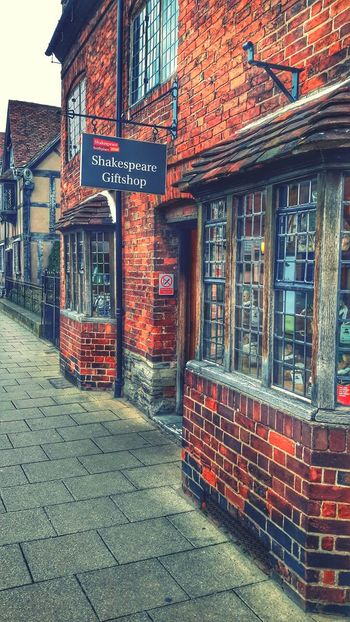 Shakespeares Giftshop Stratford-upon-Avon William Shakespeare Old Buildings Architecture