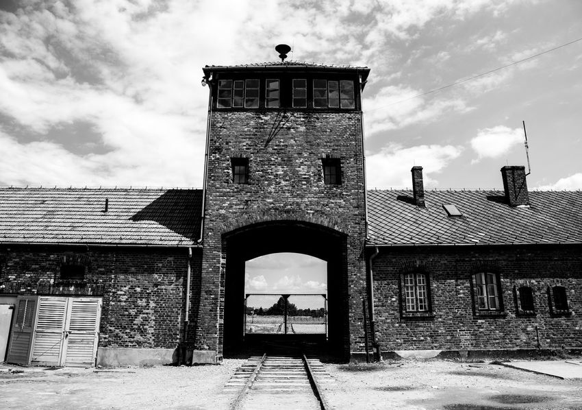 Aushwitz Aushwitz Residence Aushwitz-Birkenau Crakow Death Camp Eastern Europe Poland Arch Architecture Aushwitz Camp Building Exterior Built Structure Cloud - Sky Concentration Camp Concentrationcamp Day Killing Krakow No People Outdoors Sad Sky