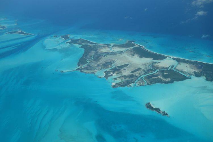 Shroud Cay-Northern Exuma Cays 45201 Turquoise Bahamas Nature Sea Aerial Photography Clear Water Exumas Aerial Shot Exuma Ocean Beach High Angle View Blue Island Travel Beauty In Nature
