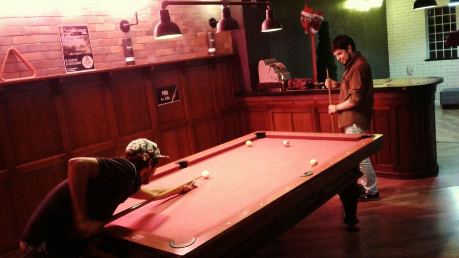 Enjoy The New Normal Adults Only Only Men Pool Table People Arts Culture And Entertainment Playing Pool - Cue Sport Pool Cue Adult Pool Ball Indoors  Sport Two People Pool Hall Young Adult Fulanohostels Yesideljach Bogotá City Bogotalive