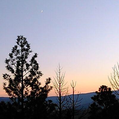 MtHelena Sunset Nofilter Montana