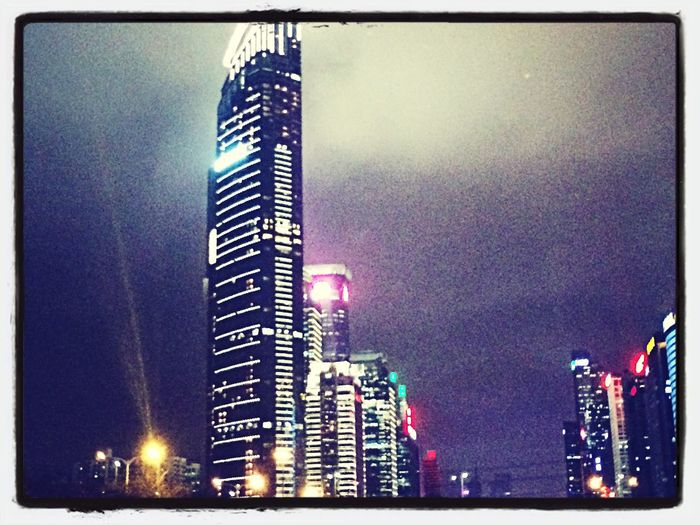 Memories in shen zhen Shen Zhen Night Lights