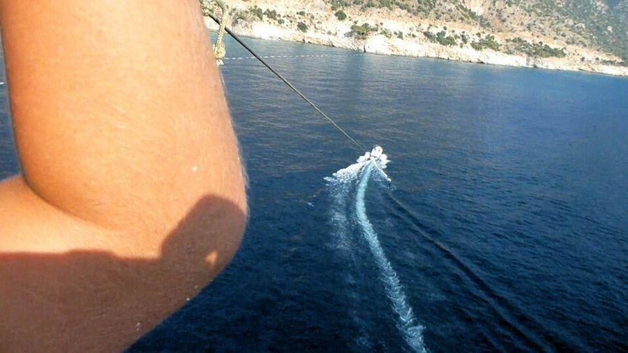 Parasailing in Ölü Deniz Kon-Tiki: Your Adventure Amazing View