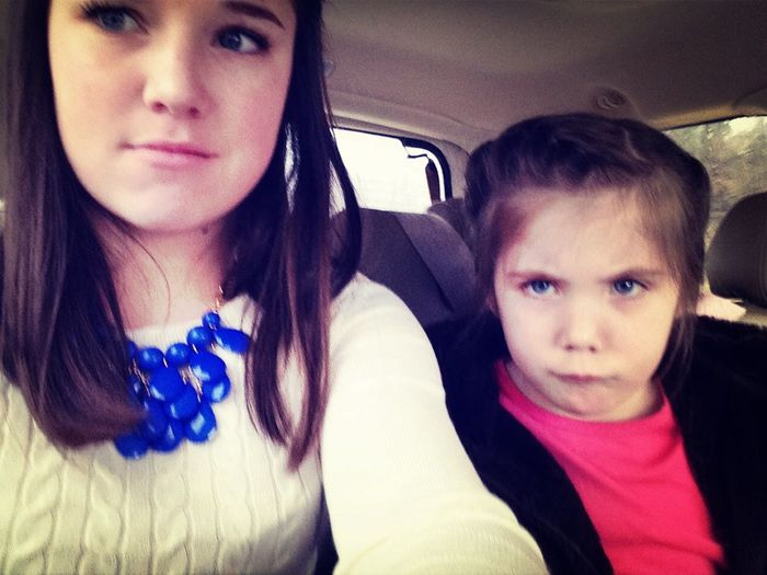 We look nothing alike...
