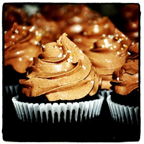 Nutella cupcakes filled with goodness made with love by us....