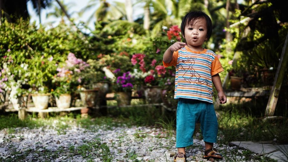 He's asking you. Child One Person Childhood People Children Only Full Length Outdoors Village Life Malaysia Kids Portrait Babyhood Standing Toddler  Nature Morning Kidsportrait Toddler