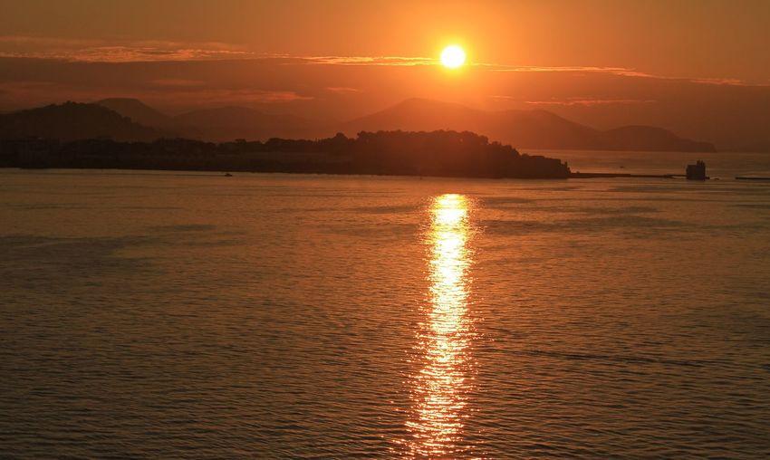 EyeEm Selects EyeEm Gallery Water Sea Sunset Beach Mountain Wave Low Tide Horizon Beauty Sunlight