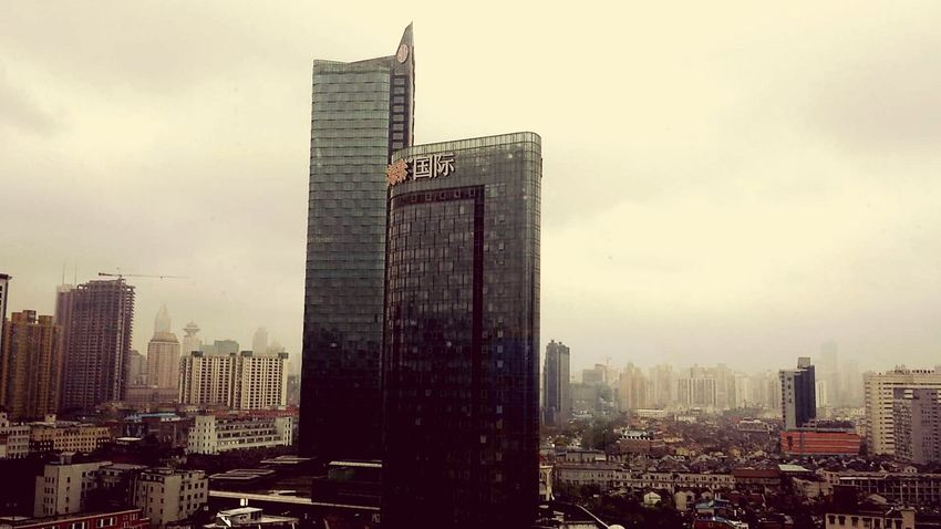 Buildings & Sky Cityview At Shanghai
